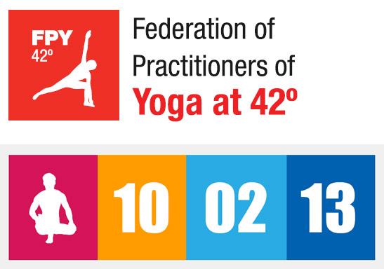 Logo de la Federación y del Día de Bikram