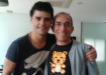 Con Miguel Abellán